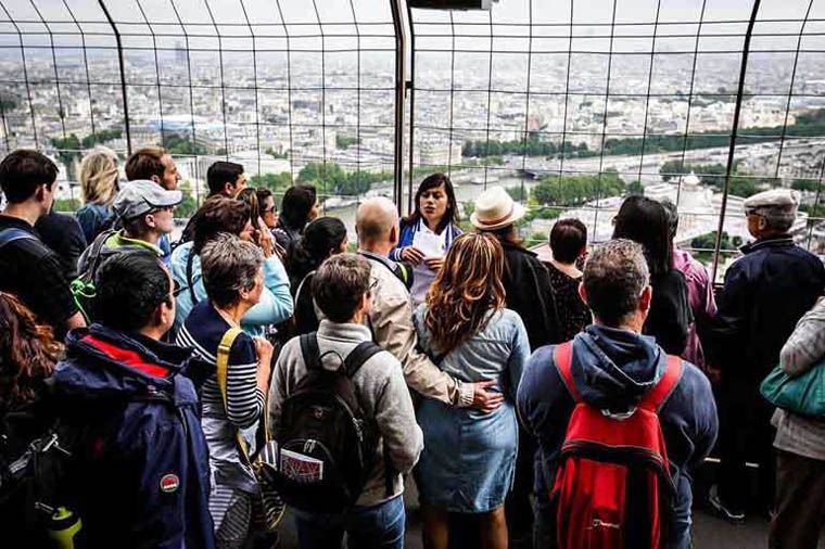 Billet coupe-file : visite de la Tour Eiffel
