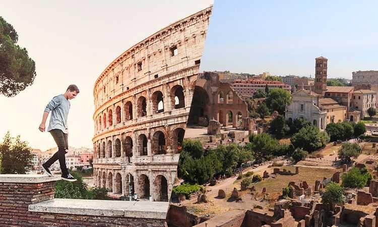 Billet entrée prioritaire pour le Colisée, le forum Romain et le mont Palatin