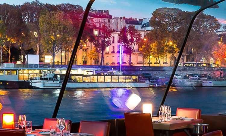 Croisière-dîner sur la Seine