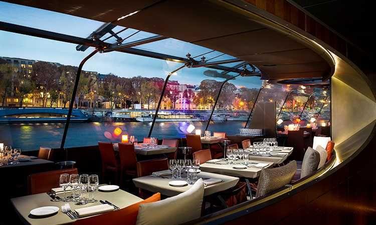 Dinner Seine Cruise-Service Etoile