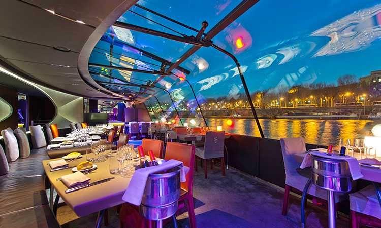 Dinner Seine Cruise - Premier Service