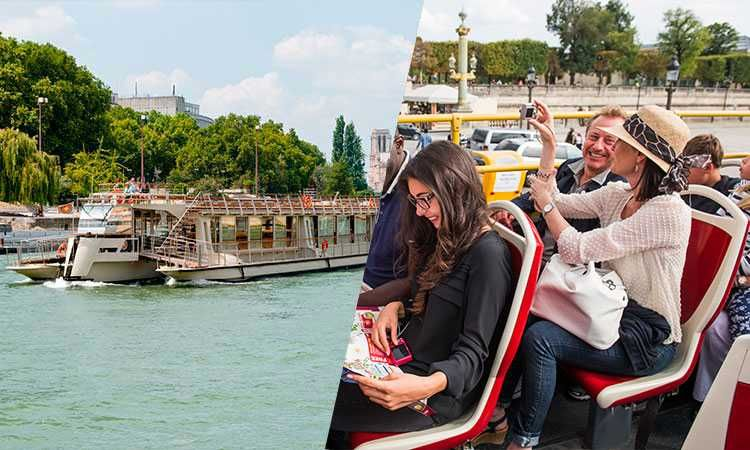 Big Bus Pass 1 Day & Seine River Cruise