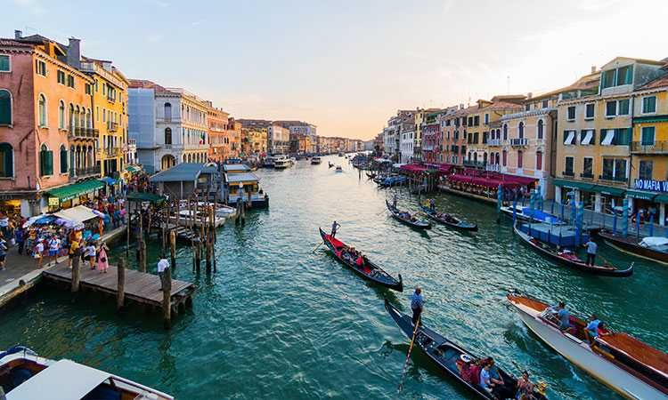 Gondola Ride: Venetian Waterways and Grand Canal by Gondola