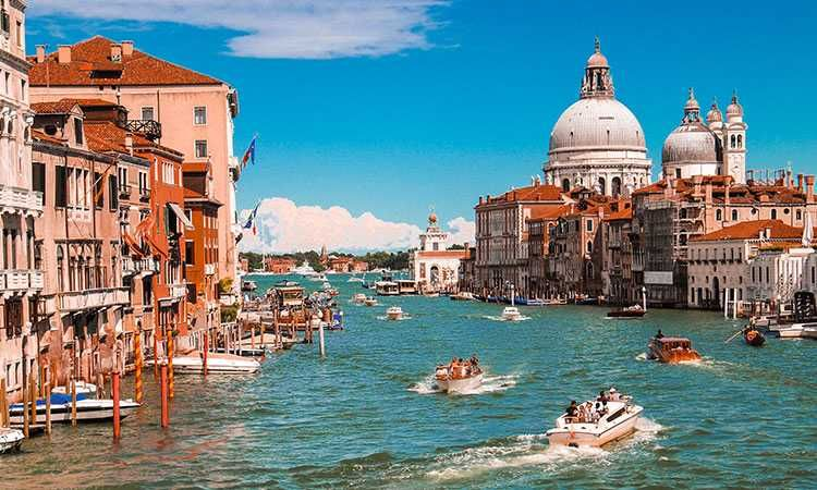 Guided tour of Venice by motor boat