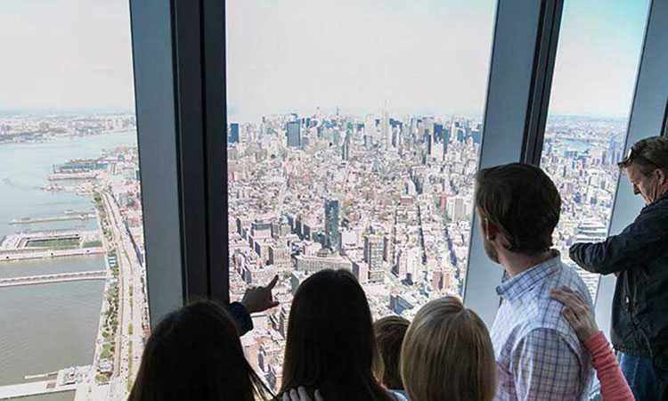 Billet coupe file intégral pour le One World Observatory