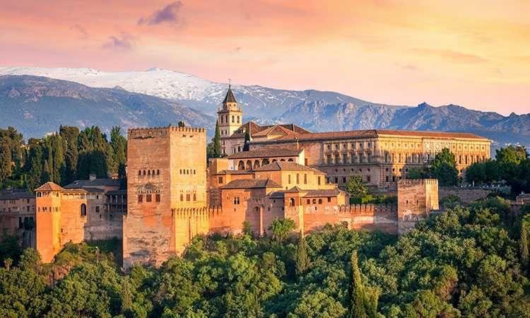 Billet coupe file pour l'Alhambra avec audio-guide