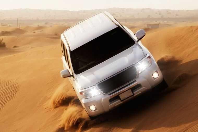 Safari matinal en 4x4 dans le désert
