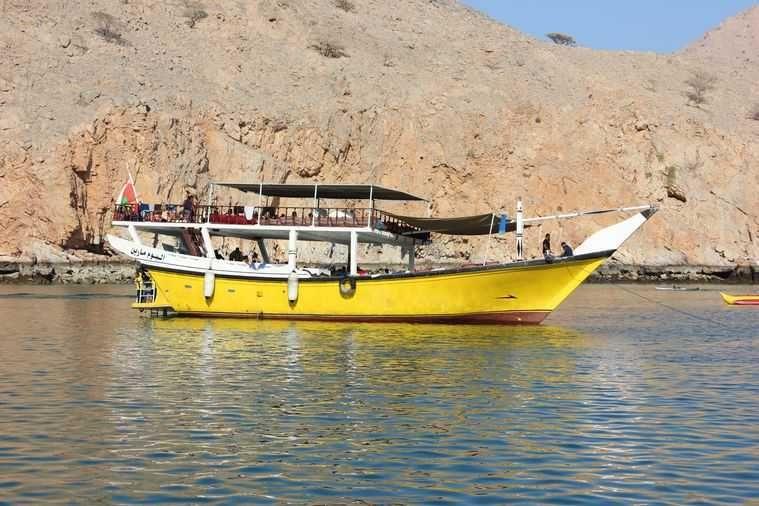 Musandam Peninsula boat trip