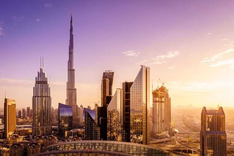 Burj Khalifa Sunset Experience : Ticket for the 124th and 125th floors