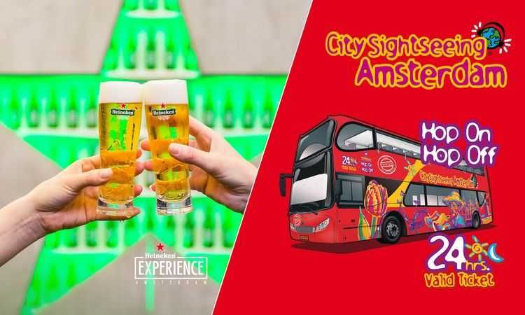 Heineken Experience & City Sightseeing Bus (1 day)