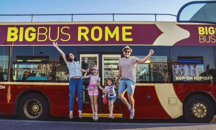 Big Bus Rome Circuit Deluxe 3 jours