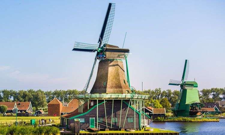 Guided tour of the Dutch countryside and windmills