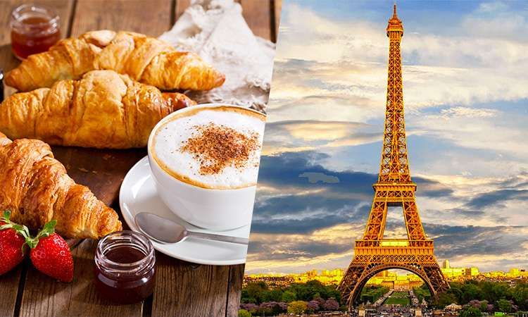 Eiffel Tower Summit with Coffee and French Croissant