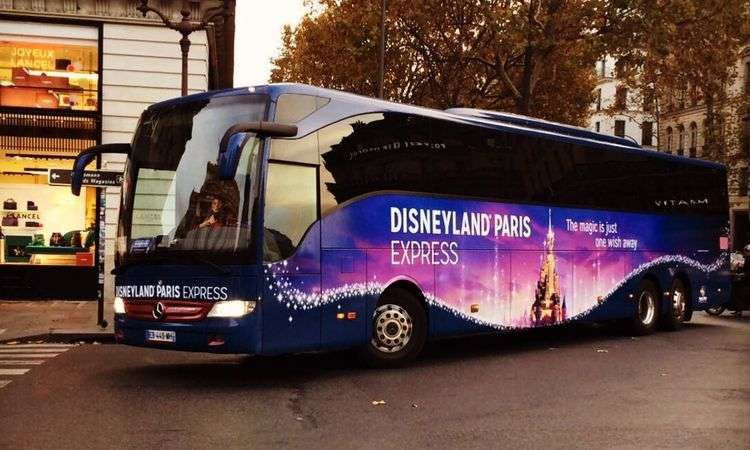 Express transfer to Disneyland Paris with 1 Day / 1 Park access ticket