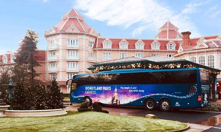 Express transfer to Disneyland Paris with 1 Day / 2 Parks admission ticket