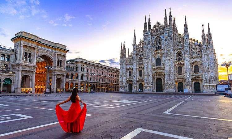 Dôme de Milan, billet d'entrée et accès aux Terrasses par les escaliers