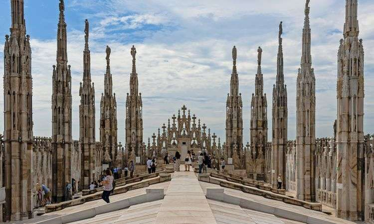 Milan Cathedral ticket and Rooftop Access by stairs