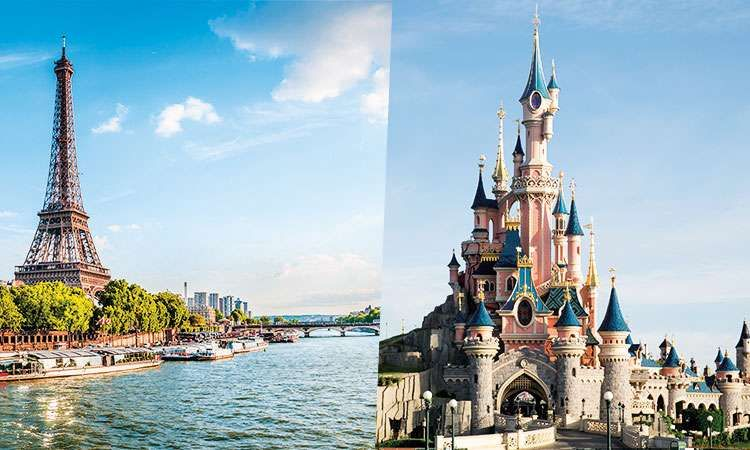 Disneyland Paris 1 Day/1Park Flexible Ticket & Seine River Cruise